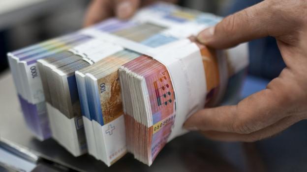 Das Geld in den Kantonskassen wird knapp.
