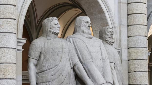 Der Kanton Uri hat im Bundesparlament drei Vertreter.