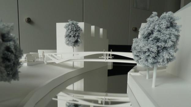 Der Starchitekt Calatrava wird die neue Lorzenbrücke doch nicht bauen.