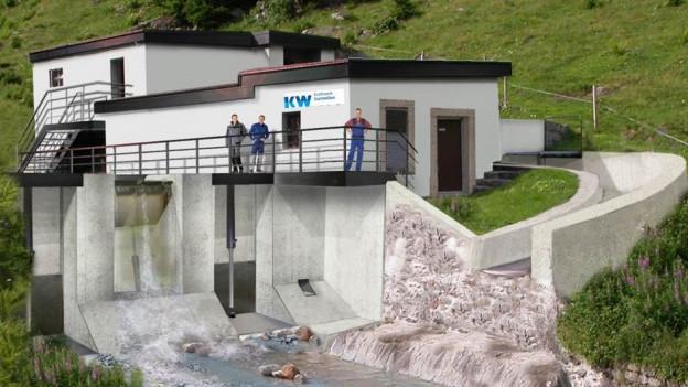 Urner Regierung will Wasserkraftwerk Gurtnellen ausbauen