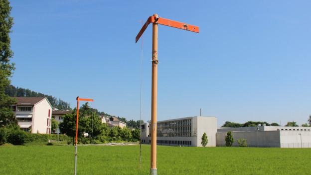 Die Grünfläche neben der Strafanstalt Grosshof in der Gemeinde Kriens.