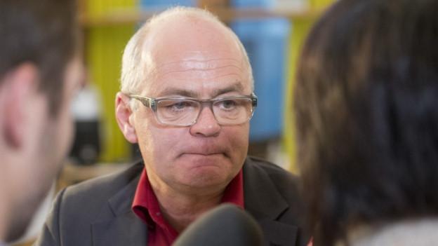 Andy Tschümperlin (SP/SZ) verpasst die Wiederwahl.