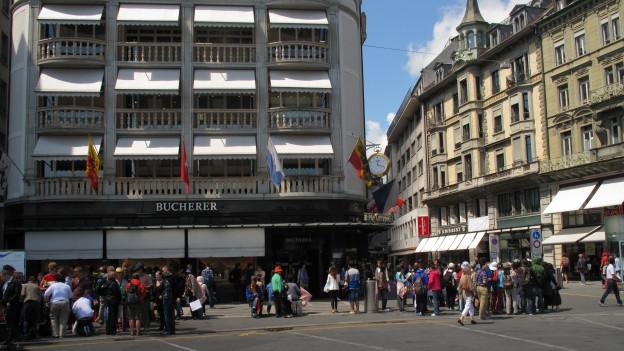 Touristen sind für die Stadt Luzern wichtiger Wirtschaftszweig