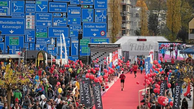 Der Lucerne Marathon war wiederum ein voller Erfolg.