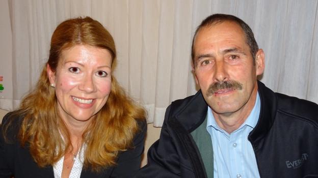 Petra Simmen und Alois Arnold wollen für die SVP in die Urner Regierung