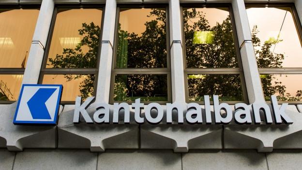Das Hauptgebäude der Luzerner Kantonalbank in Luzern.