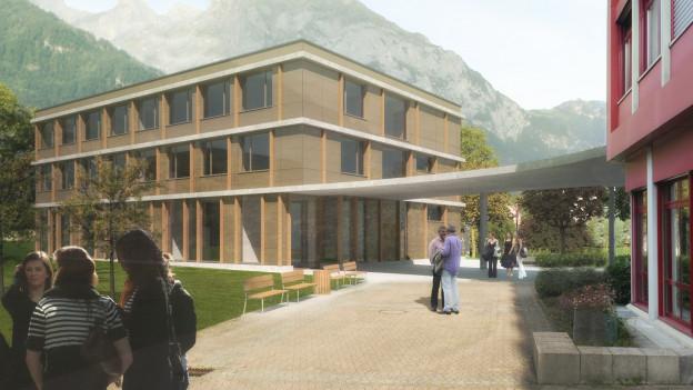9,7 Millionen Franken soll der Ausbau des Berufsbildungszentrums kosten.