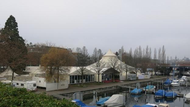Der Bootshafen in Luzern ist ein möglicher Standort.