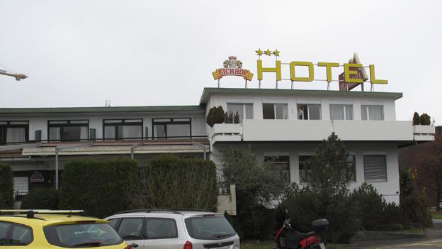 Im ehemaligen Motel werden jugendliche Asylsuchende untergebracht.