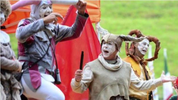 Das Freilichtspektakel «Morgarten – Der Streit geht weiter» war einer der Höhepunkte im Jubiläumsjahr