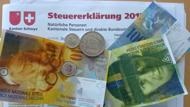 Die Steuereinnahmen reichen nicht: Schwyz rechnet für 2016 mit einem Defizit.