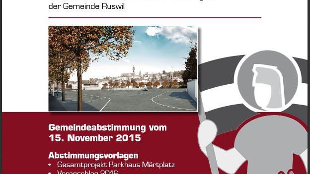 Die Abstimmungsbotschaft der Gemeinde Ruswil.