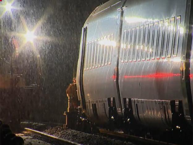 Standbild SRF von betroffenem Zug.