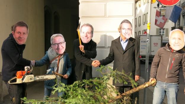 Das Sparporgramm der Luzerner Regierung stösst auf breiten Widerstand