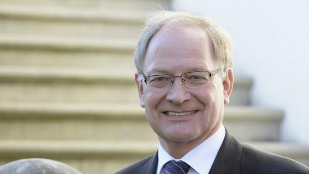 Finanzdirektor Hans Wallimann hat die Steuerpolitik von Obwalden massgeblich geprägt