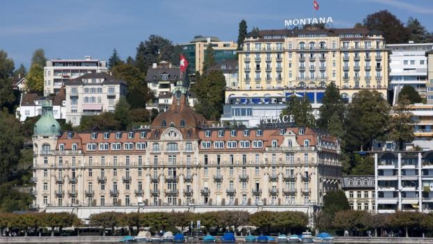 Ein chinesischer Investor will das Hotel Palace in Luzern kaufen.