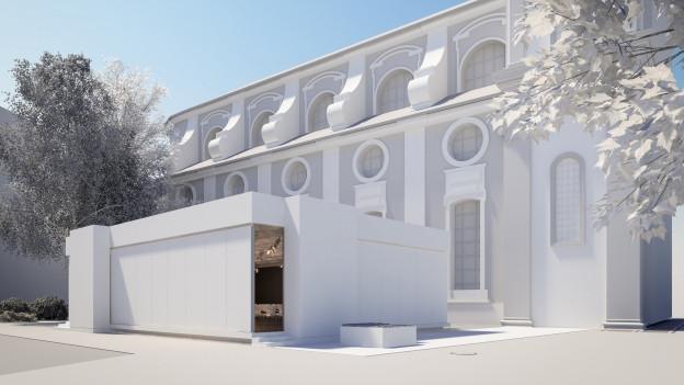 Die «Box» soll dem Luzerner Theater mehr Möglichkeiten eröffnen