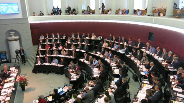 Luzerner Kantonsratssaal