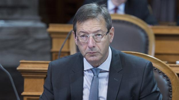 Josef Dittli: Statt in der Budgetdebatte im Ständerat.