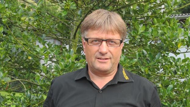 in Lightbox öffnen. Bildlegende: Alt Landrat Josef Niederberger kandidiert für den Nidwaldner Regierungsrat