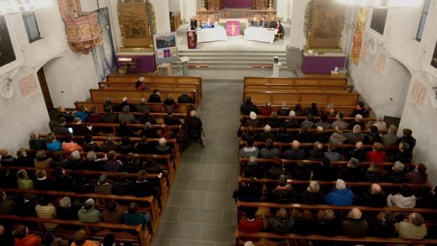 Über 200 Personen nahmen an der Kirchgemeindeversammlung in Bürglen teil.