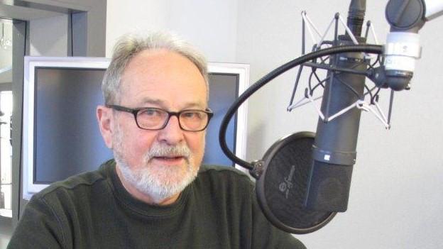 Der Obwaldner Kulturpreisträger Josef Gnos.