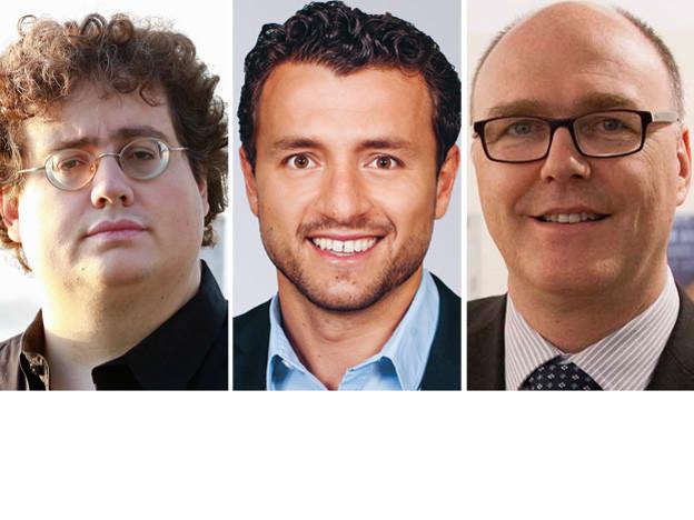Stefan Thöni, Zari Dzaferi, Martin Pfister.