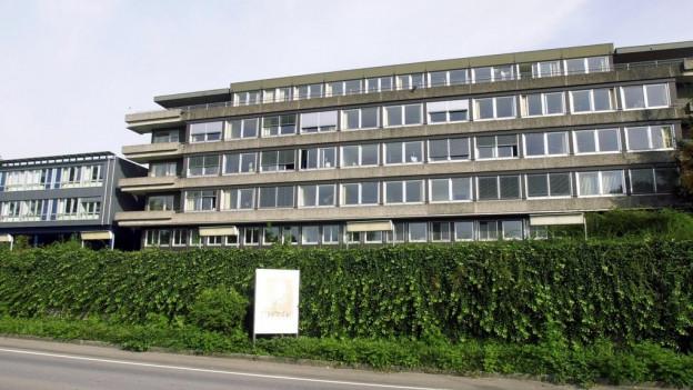 Altes Kantonsspital Zug.