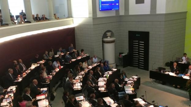 Die Durchsetzungsinitiative war auch Thema im Luzerner Kantonsrat.