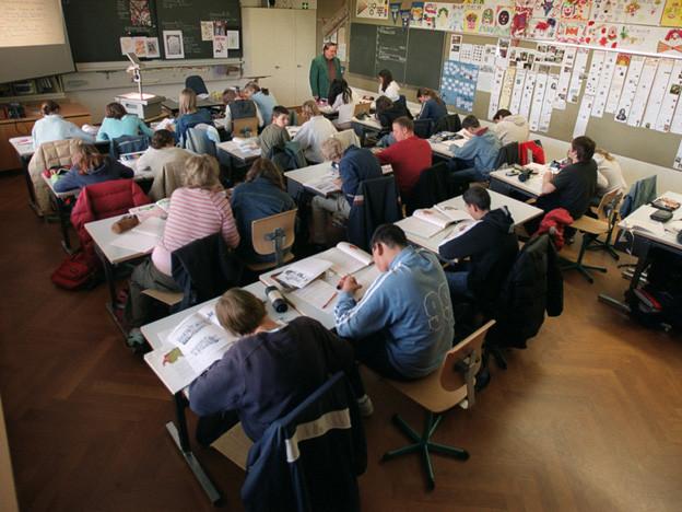 Viele Zuger Schüler wechseln von der 6. Klasse ins Gymnasium.