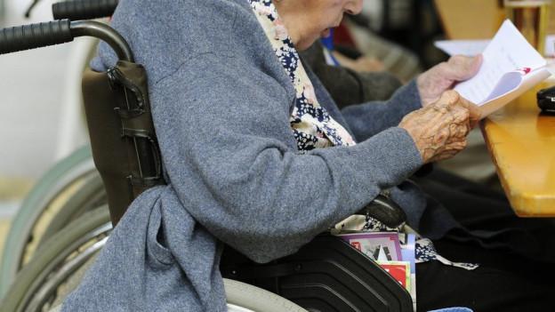 Die Pflegekosten steigen immer mehr an.