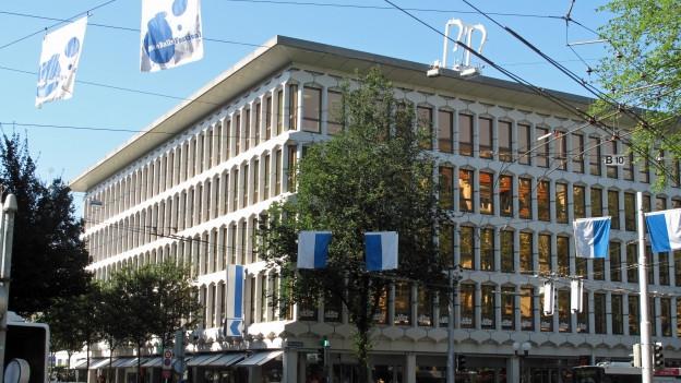 Leicht weniger Gewinn: Hauptsitz der Luzerner Kantonalbank.
