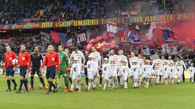 Das erste Spiel in der Rückrunde: FCL gegen FCB