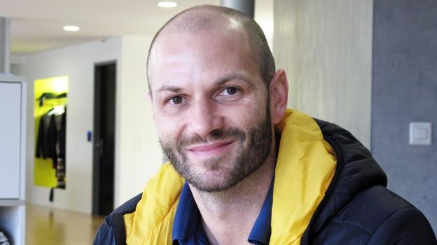 Porträt des Handballtrainers Heiko Grimm.