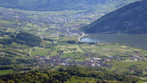 Im Talkessel von Schwyz soll der öffentliche Verkehr künftig ein stärkeres Gewicht bekommen