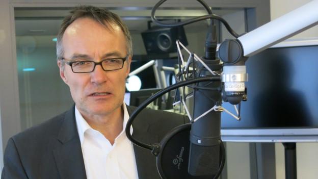 Fastenopfer-Direktor Patrick Renz.