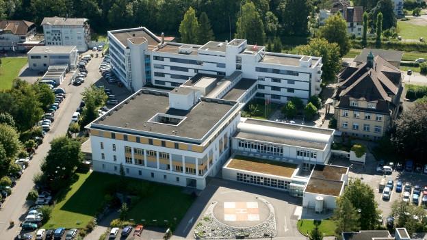 Das Spital Lachen im Kanton Schwyz.