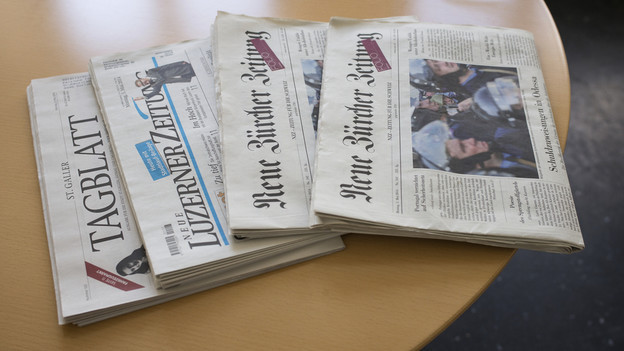 Gemeinsame Leitung für viele Zeitungen.