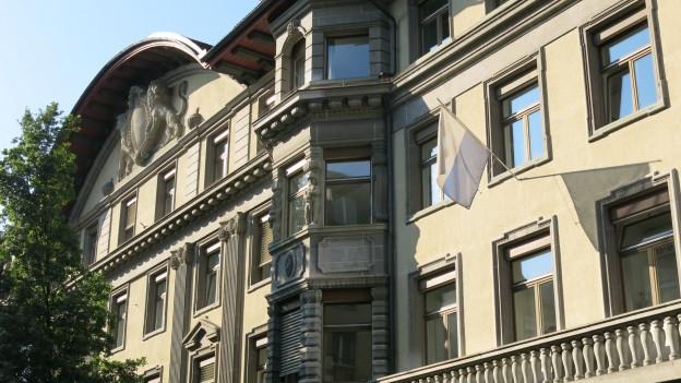 Das Stadthaus in Luzern.