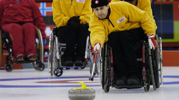 Die WM im Rollstuhl-Curling startet am Sonntag.