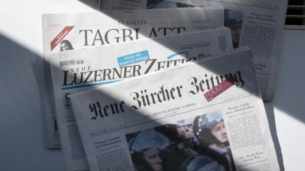 Ein neuer Chef für NLZ und St. Galler Tagblatt.
