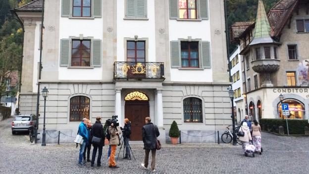 Der Prozess findet im Rathaus in Altdorf statt.
