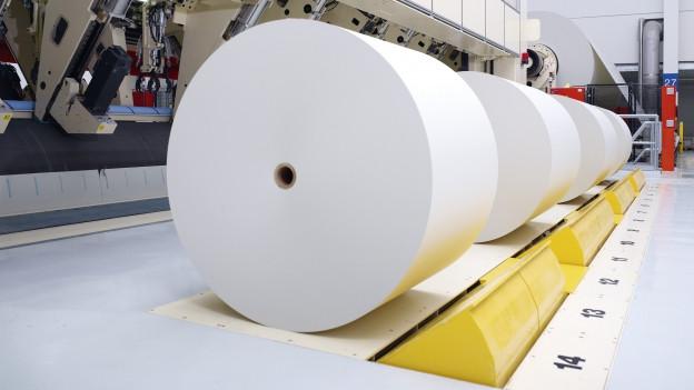 Das Geschäft mit Papier ist schwieriger geworden.