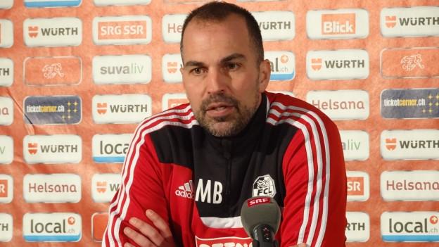 FCL-Trainer Markus Babbel steht gegen Lugano unter Druck.