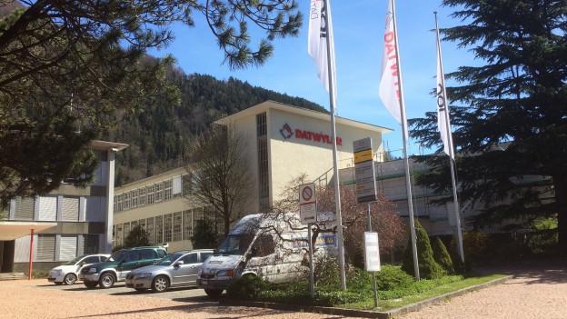 Dätwyler-Firmensitz in Altdorf: Umsatz und Gewinn gingen zurück.