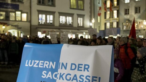 Eine Klatsche ins Gesicht des Luzerner Staatspersonals
