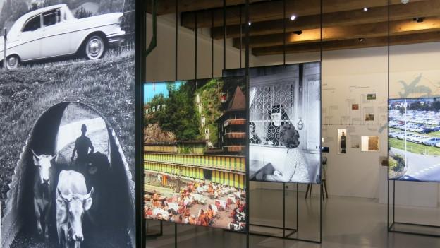 Neue Dauerausstellung im Salzmagazin in Stans.