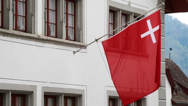 Die Schwyzer Fahne.