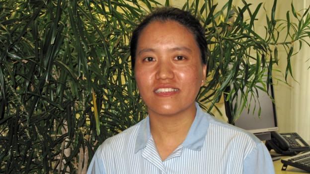Sie hat den Kurs erfolgreich abgeschlossen: Norzom Phelkhangsar