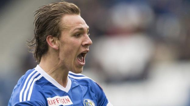 Michael Frey, Spieler des FC Luzern.